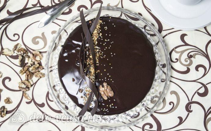 Муссовый торт с пралине