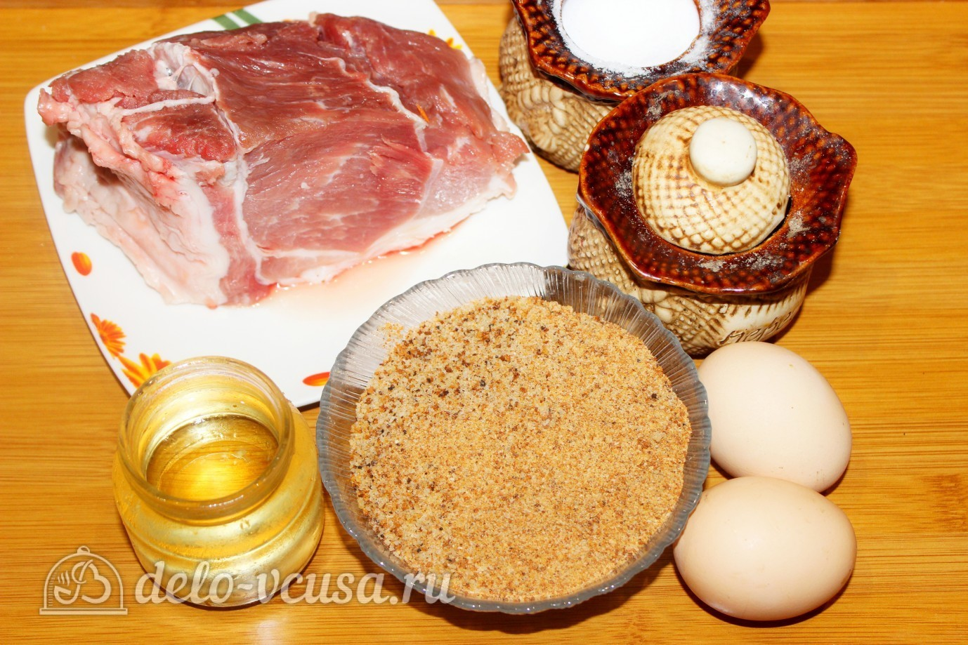 рецепт отбивные в панировке в духовке