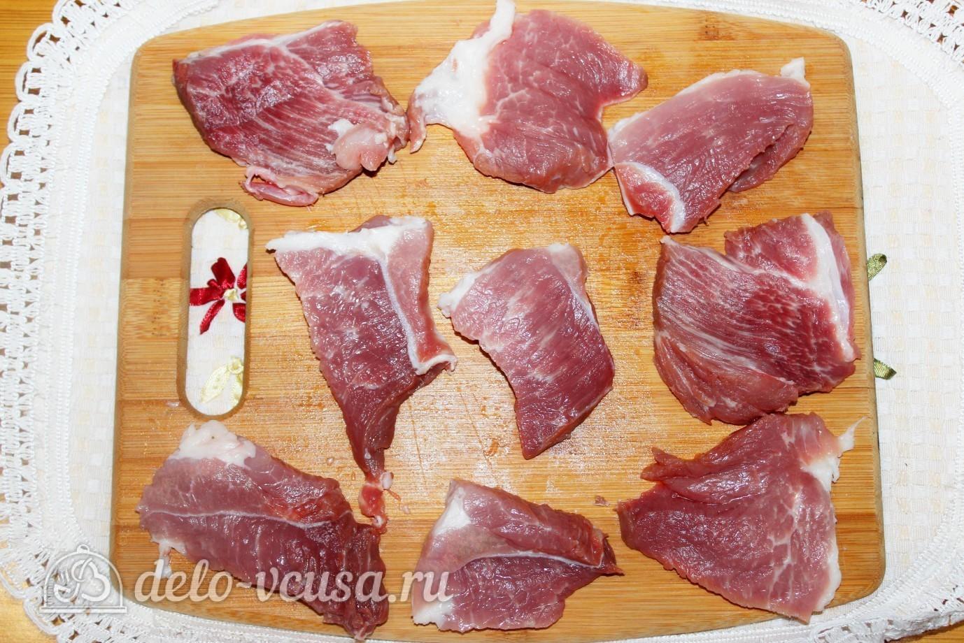 свиные отбивные в духовке с помидорами рецепты
