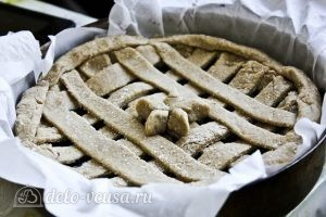 Пирог с черникой на кефире: Украсить пирог