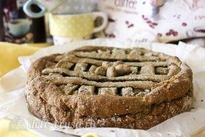 Пирог с черникой на кефире: Запечь пирог