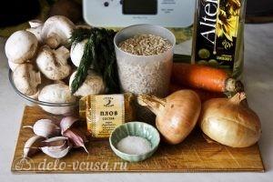 Плов с грибами: Ингредиенты