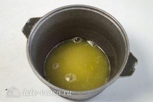 Торт Добош: Сделать апельсиновый сироп