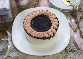Торт-суфле Птичье молоко