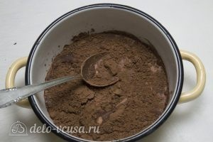 Торт-суфле Птичье молоко: Готовим глазурь