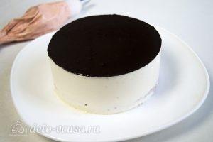 Торт-суфле Птичье молоко: Извлекаем торт из формы
