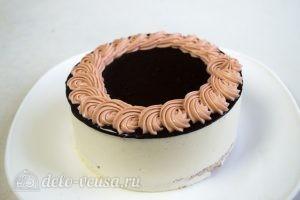 Торт-суфле Птичье молоко: Украшаем торт