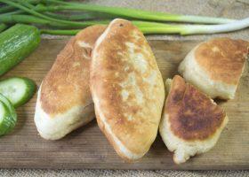 Рецепт жареные пирожки с начинкой