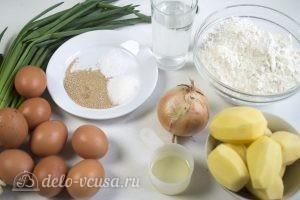 Жареные пирожки с начинкой: Ингредиенты
