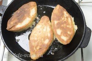Жареные пирожки с начинкой: Пожарить пирожки