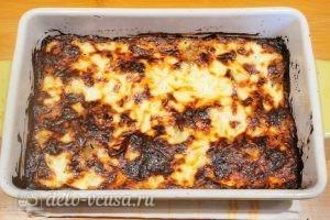 Запеканка с грибами и картофелем: Запекать