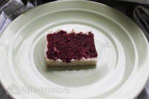 Пирожные с творожным кремом: Начинаем собирать пирожные