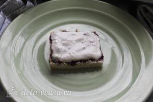Пирожные с творожным кремом: Промазываем пирожные кремом