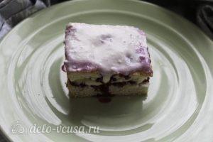 Пирожные с творожным кремом: Смазываем верх пирожных кремом