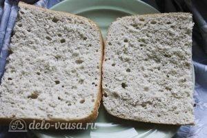 Пирожные с творожным кремом: Разрезаем бисквит