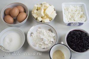 Бисквитный торт с творожным кремом: Ингредиенты