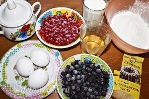 Ягодные пирожные: Ингредиенты