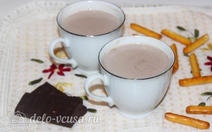 Рецепт какао на молоке