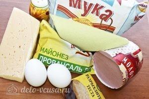 Кексы с колбасой: Ингредиенты