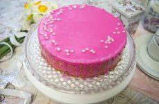 Клубничный торт-суфле