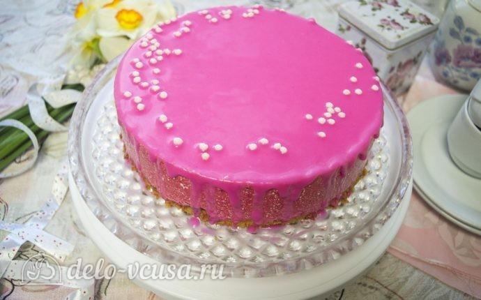 Клубничный торт-суфле: фото блюда приготовленного по данному рецепту
