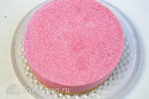 Клубничный торт-суфле: Освобождаем застывший торт от формы