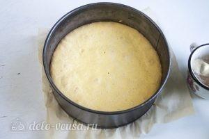 Клубничный торт-суфле: Даем готовому бисквиту остыть
