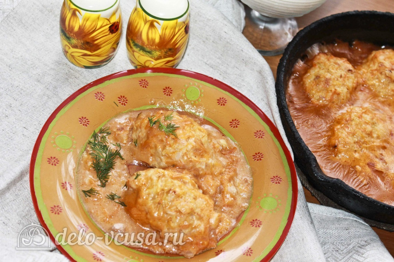 Как приготовить зразы с мясом рецепт