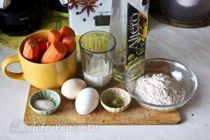 Морковные оладьи: Ингредиенты