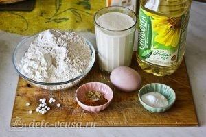 Оладьи на ряженке: Ингредиенты