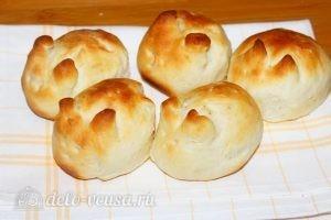 Пасхальные булочки: Выпекать булочки