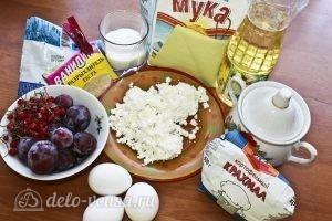 Пирог со сливами: Ингредиенты