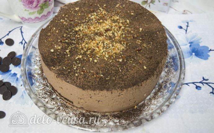 Шоколадный торт Птичье молоко