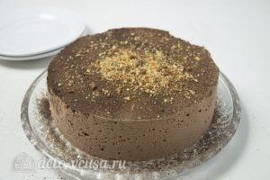 Шоколадный торт Птичье молоко: Украшаем торт