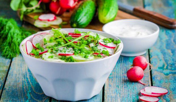 Салат из редиски. Простые и вкусные рецепты