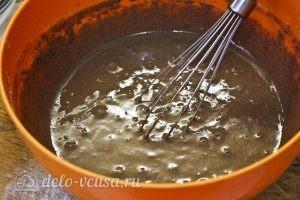 Шоколадные оладьи: Все взбиваем