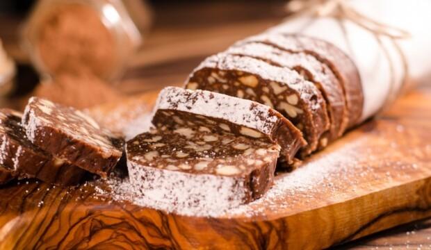 Рецепт сладкой колбаски из печенья и какао классический рецепт