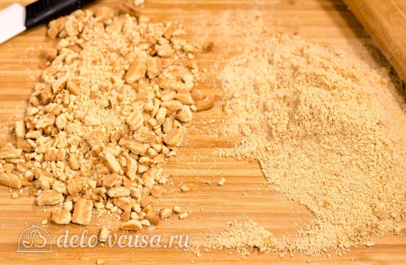 Как приготовить колбаску из печенья