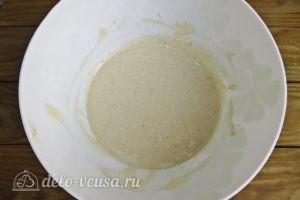 Творожно-банановые оладьи: Перемешиваем все ингредиенты