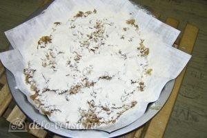 Варшавский яблочный пирог: Выкладываем поверх слой смеси