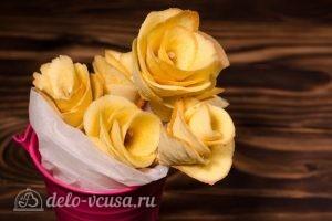 Бисквитные розочки на соломке: Собираем целый букет