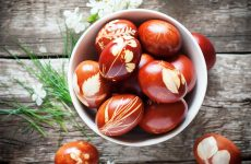 Красим яйца на Пасху с рисунком