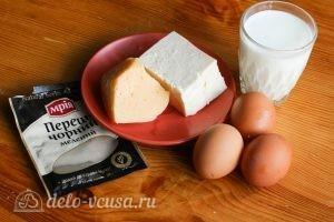 Омлет с брынзой: Ингредиенты