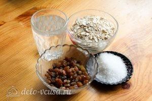 Овсяная каша с изюмом: Ингредиенты