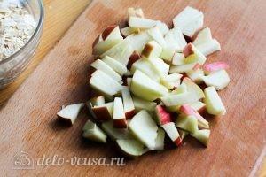 Овсяная каша с яблоками: фото к шагу 1