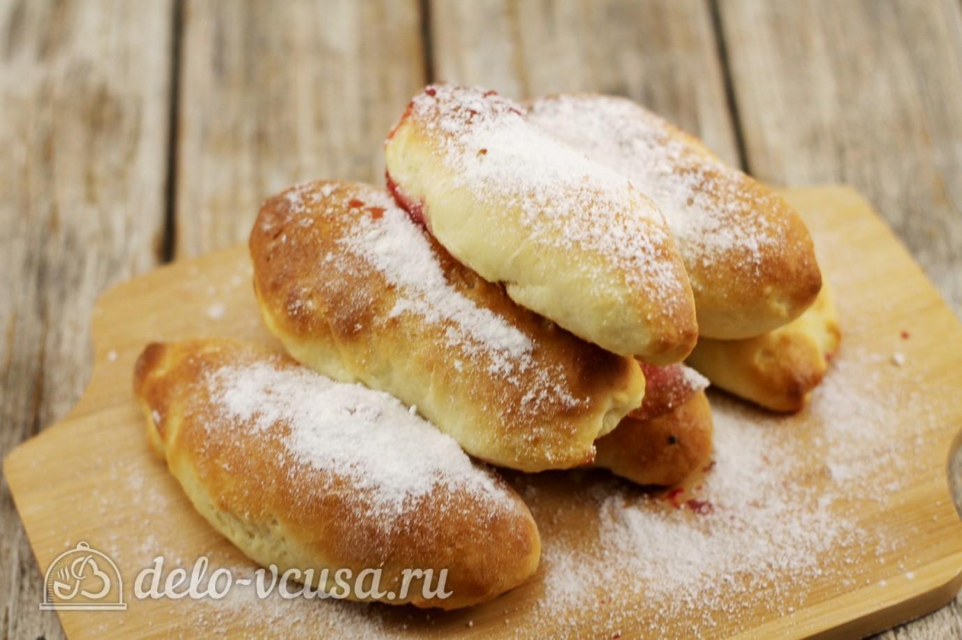 пирожки со смородиной в духовке рецепт с фото