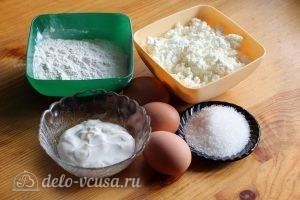 Пышные сырники на сковороде: Ингредиенты