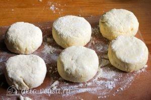 Пышные сырники на сковороде: Лепим сырники
