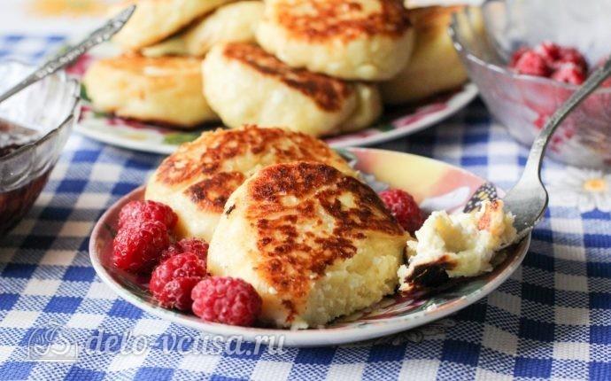 Сырники с йогуртом