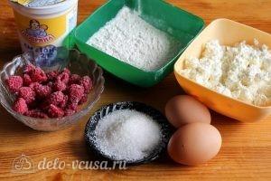 Запеканка с малиной: Ингредиенты